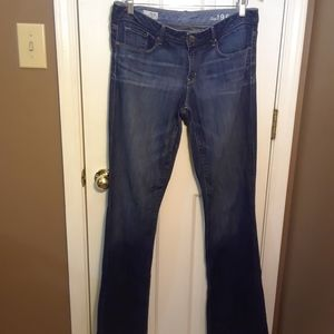NWOT 12T GAP 1969 WOMENS JEANS SEXY BOOTCUT 32X33